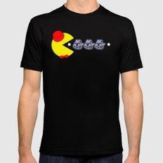 Pac Who! Black SMALL Mens Fitted Tee