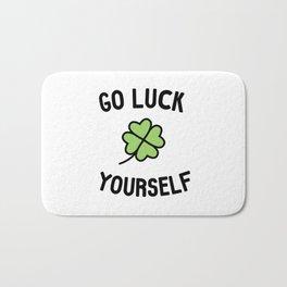Go Luck Yourself Bath Mat