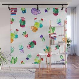 cute cactus Wall Mural