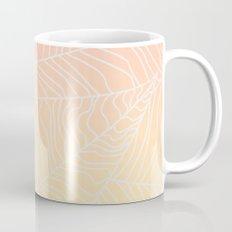 TROPICAL LEAF - dreamy look (pink and yellow) Mug