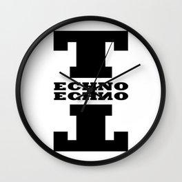 Techno Anagram Wall Clock