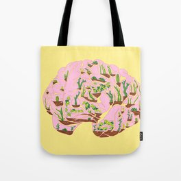Brain Terrarium Tote Bag