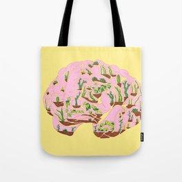 Brain Terrarium Tote Bag