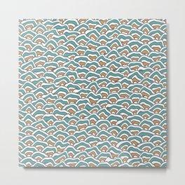 Funky Pattern Metal Print