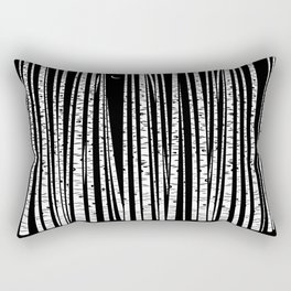See the Forest Rectangular Pillow
