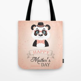 Happy Mother's Day ~ Panda Tote Bag