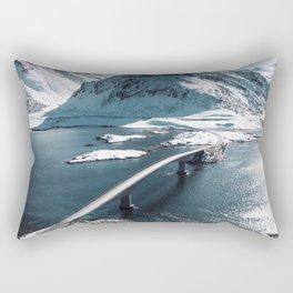 lofoten bridge Rectangular Pillow