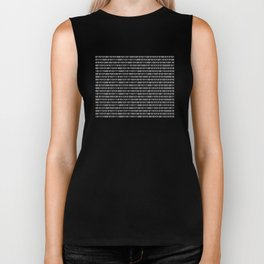 The Binary Code DOS version Biker Tank