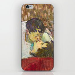 "Henri de Toulouse-Lautrec ""In Bed. The Kiss"" iPhone Skin"