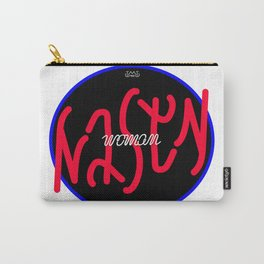 nasty woman invertible ambigram Carry-All Pouch