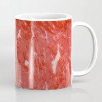 nietzsche Mugs featuring Carnivore by pixel404