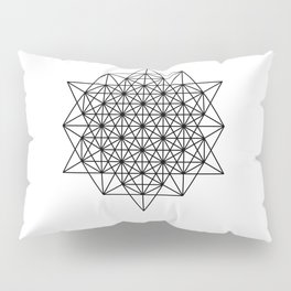Star tetrahedron, sacred geometry, void theory Pillow Sham
