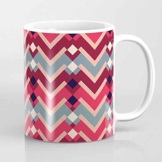 Fractal Mountains - candy Mug