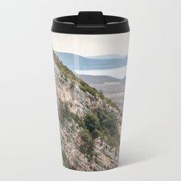 French lake view Travel Mug