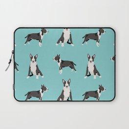Bull Terrier dog breed pet friendly gifts terriers bull terriers Laptop Sleeve