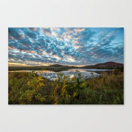 Wichitas Wonder - Fall Colors and Big Sky in Oklahoma Canvas Print