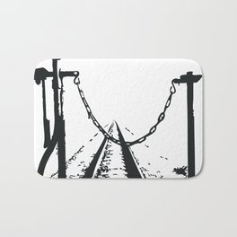 Caboose Ride (See You Soon) Bath Mat