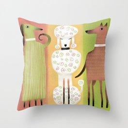 SHOW TIME Throw Pillow