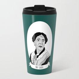 Mary Seacole Illustrated Portrait Travel Mug