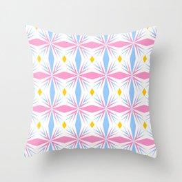 symetric patterns 29 -mandala,geometric,rosace,harmony,star,symmetry Throw Pillow