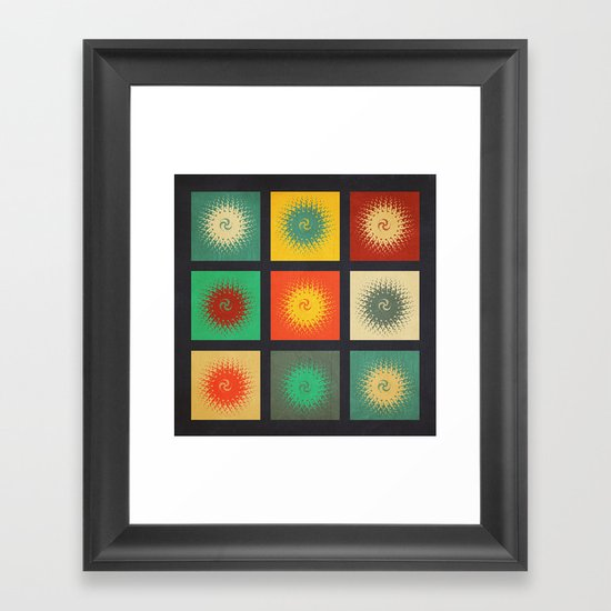 Textures/Abstract 90 Framed Art Print