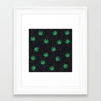 weed Framed Art Prints featuring Weed by jajoão