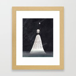 Every Dream Begins With A Dreamer... Framed Art Print