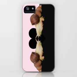Love snails iPhone Case