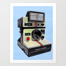 Polaroid. Art Print