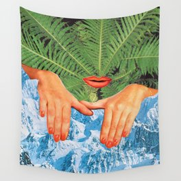 Touch Cold Wall Tapestry