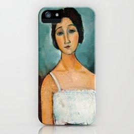 Christina by Amedeo Modigliani, 1916 iPhone Case