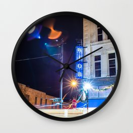On The Air Wall Clock