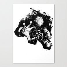 Leroy (Messy Ink Sketch) Canvas Print