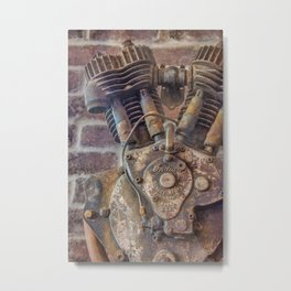 10686 Indian Motor Metal Print