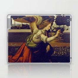 "Leonardo da Vinci ""Annunciation"" The Archangel Gabriel Laptop & iPad Skin"