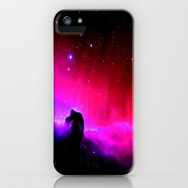 Galaxy : Horsehead nEbUlA Pink Red Purple iPhone Case