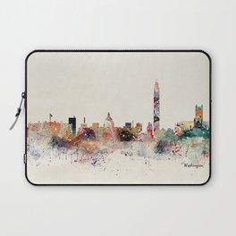 washington dc skyline Laptop Sleeve