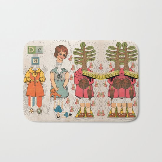 Silly Girls Bath Mat