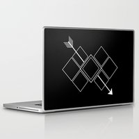 arrow Laptop & iPad Skins featuring Arrow by Aonair Designs