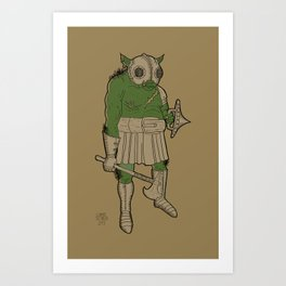 Orc - Male Art Print