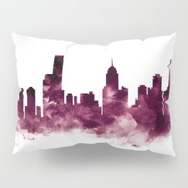 Melbourne Skyline Pillow Sham
