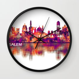 Jerusalem Israel Skyline Wall Clock