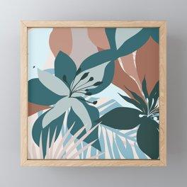 Tropical Bouquet Framed Mini Art Print