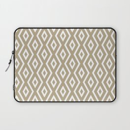 Brown Diamond Pattern Laptop Sleeve