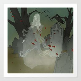 The Ghost of Lenore Art Print