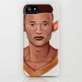 Chad, the Karate Elf iPhone Case