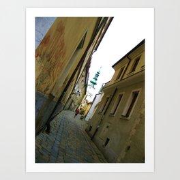 Bratislava Angles Art Print