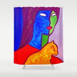 Watchful Eye #society6 #decor #buyart Shower Curtain