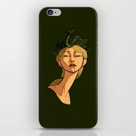 Snake Goddess iPhone & iPod Skin