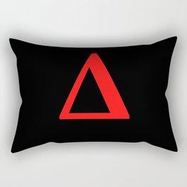 Delta  Δ Rectangular Pillow